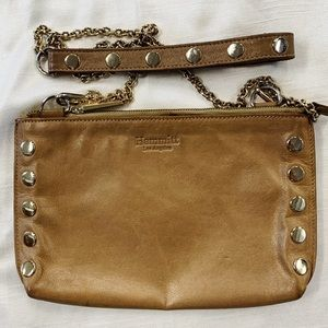 Hammit Crossbody Purse with Gold Hardware